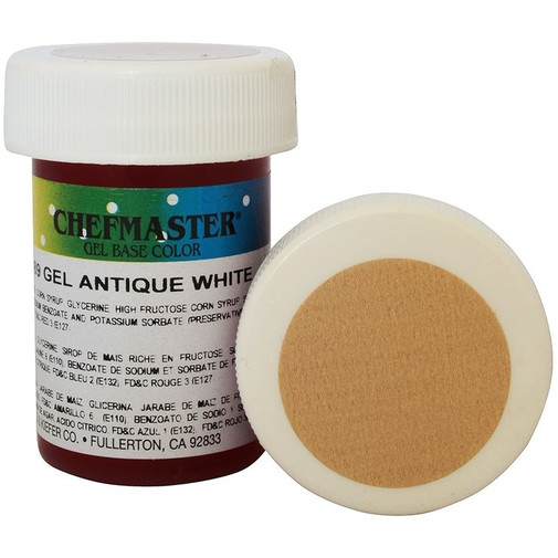Гель-краска Base Color Chefmaster Antique White 28грамм