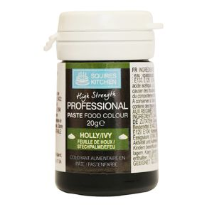 Краситель Squires Kitchen Paste Colour - Holly/ Ivy