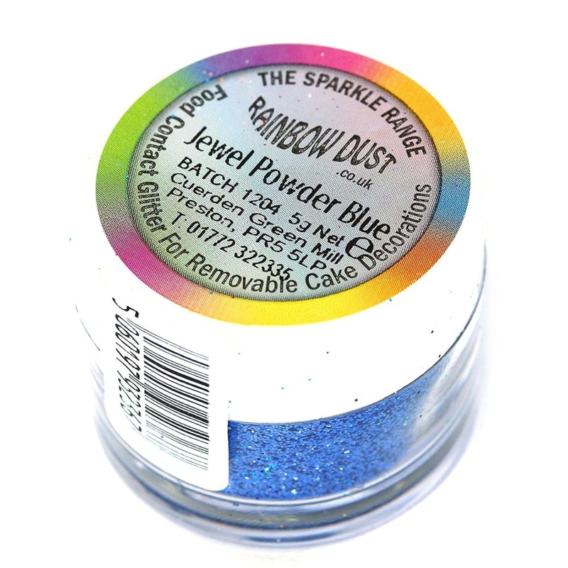 Блёстки Rainbow Jewel Powder Blue