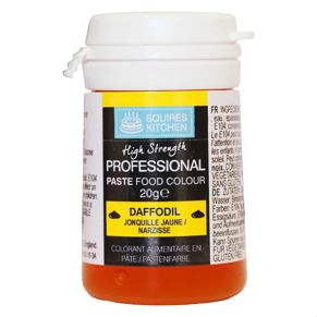 Краситель Squires Kitchen Paste Colour - Daffodil