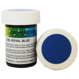Гель-краска Base Color Chefmaster Royal Blue 28грамм