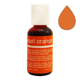 Гелевый краситель Chefmaster Liqua-Gel Sunset Orange