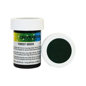 Гель-краска Base Color Chefmaster Forest Green 28грамм