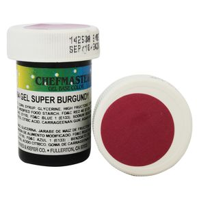 Гель-краска Base Color Chefmaster Super Burgundy 28грамм