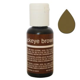 Гелевый краситель Chefmaster Liqua-Gel Buckeye Brown