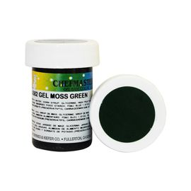 Гель-краска Base Color Chefmaster Moss Green 28грамм